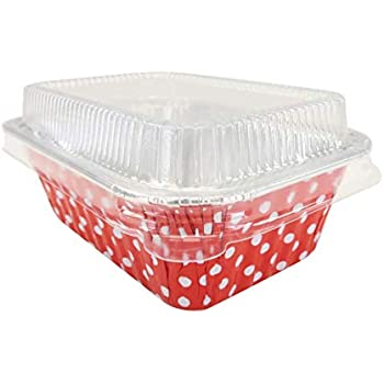 Amazon Com 15 Disposable Aluminum Mini Loaf Pans Kitchen