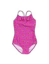 Fartido Infrant Baby Girl Swimsuit Watermelon Fruit Print One-Piece Swimwear