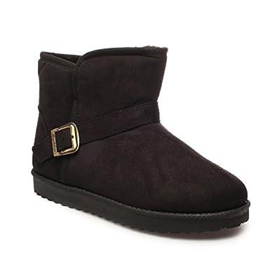 en Daim Boots La Modeuse fourrées Simili bY6fgy7v