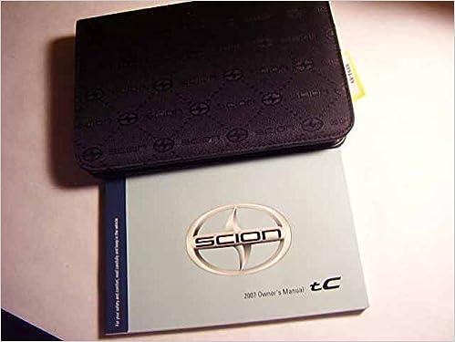 2007 scion tc owners manual