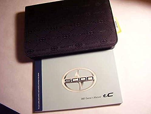 2007 scion tc owners manual scion amazon com books rh amazon com 2007 scion tc owners manual 07 Scion tC Specs