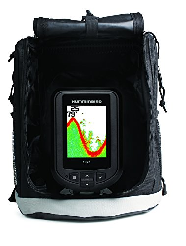 Humminbird 409680-1 PiranhaMax 197C PT Color, Portable Fish Finder (Grey) Fish Finders And Other Electronics Humminbird