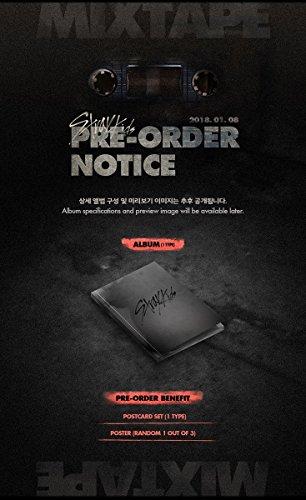 JYP Entertainment STRAY KIDS - Mixtape (Debut Album) CD+Folded Poster+Extra Photocards Set by JYP Entertainment