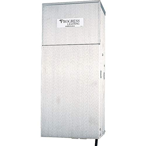 Stainless Steel 600w Transformer (Progress Lighting P8520-01 600 Watt Transformer, Stainless Steel)