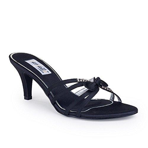 FARFALLA - Zapatos con tacón mujer Negro - negro