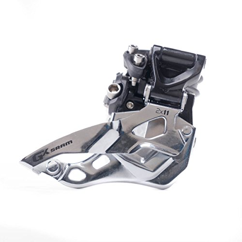 (SRAM GX Bicycle Front Derailleur with 2 x 11 High-Clamp Bottom Pull)