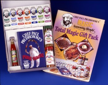 Chef Paul Prudhomme's Magic Seasoning Blends ~ Total Magic Giftpack -