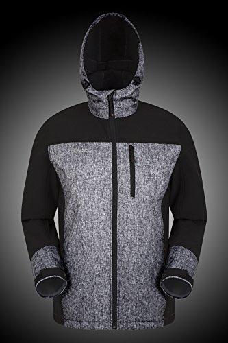 L'eau Mountain Micropolaire Cyclisme Warehouse Résistant Illuminate Noir pour manteau Réfléchissante Hommes De Léger Imperméable Visibilité Veste Voyager À Haute qzCrwqOS