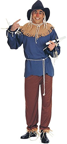 Wizard Of Oz Scarecrow Costume Accessories (Scarecrow Costume - Standard - Chest Size 40-44)