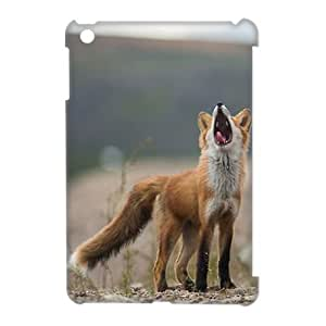 ZK-SXH - Red fox singing Diy 3D Cell Phone Case for iPad Mini,Red fox singing Personalized 3D Cell Phone Case