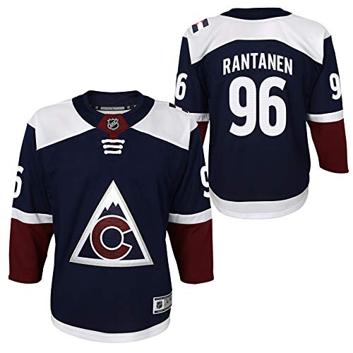 Outerstuff Youth Colorado Avalanche Mikko Rantanen Premier Player Jersey (Youth S/M)