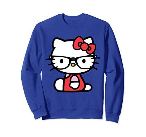 Hello kitty Nerd Glasses Sweatshirt