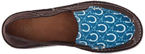 Ariat Damen Cruiser Slip-On Schuh Schokolade / Seehafen Schuhe