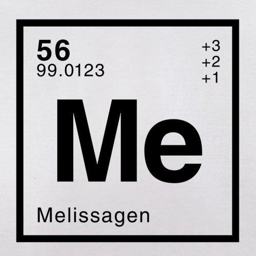 Melissa Periodensystem - Herren T-Shirt - Weiß - XL