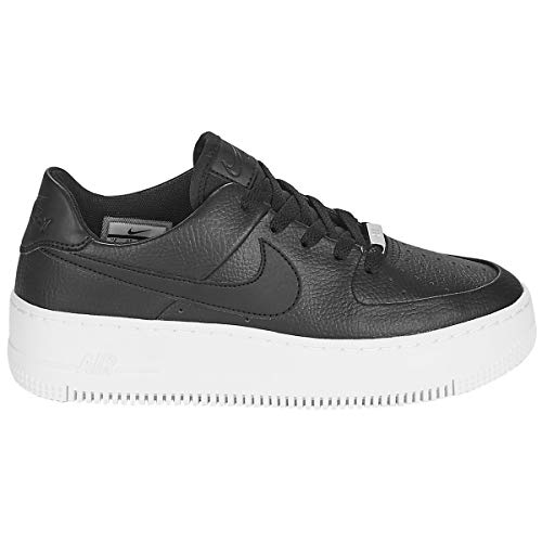 Nike Air Force 1 Sage Low Women's Shoes Black/White ar5339-002 (8 B(M) US)