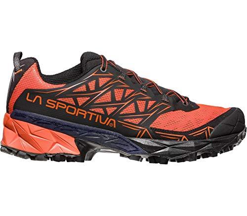 La Multicolor Black 000 Trail Tangerine de Hombre Running Sportiva Akyra para Zapatillas PwrqPv8