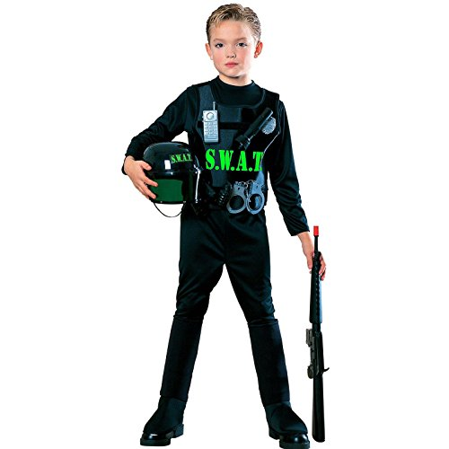 Young Heroes Child's S.W.A.T. Team Costume, Medium
