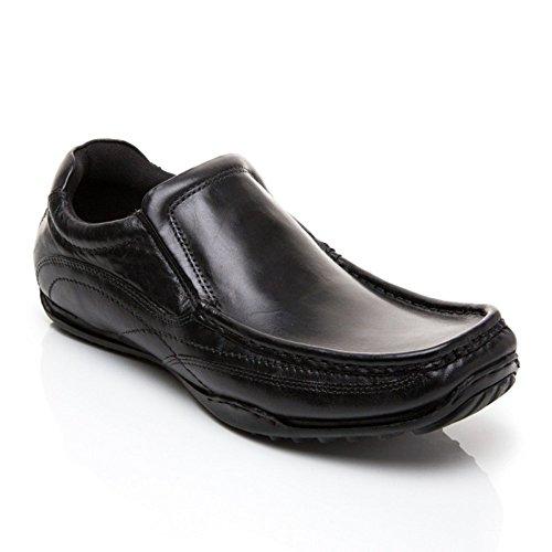 da uomo Nero barca Brand Private nero Scarpe qxAO6qpE