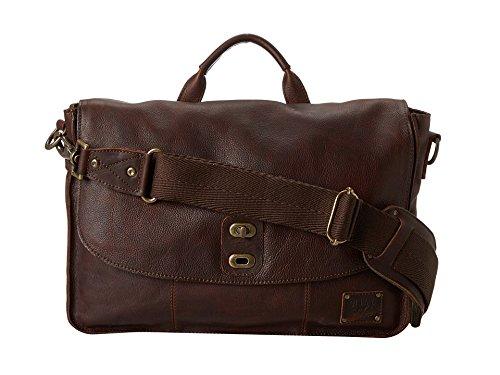 [ウィルレザーグッズ] Will Leather Goods メンズ Kent Messenger ショルダーバッグ [並行輸入品]  ブラウン B01N0G7QVC