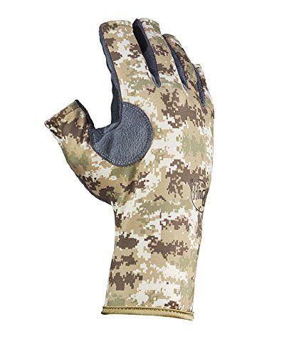[Buff Pro Angler 3 Gloves, Pixels Desert, X-Large/XX-Large] (Pixel Gloves)