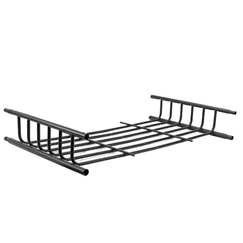 Leader Accessories Roof Rack Extension, for Rooftop Cargo Basket, 21-Inch x 37-Inch x 4-Inch