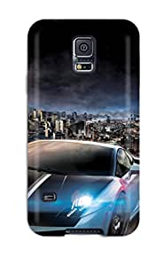 Durable Defender Case For Galaxy S5 Tpu Cover(need For Speed World)