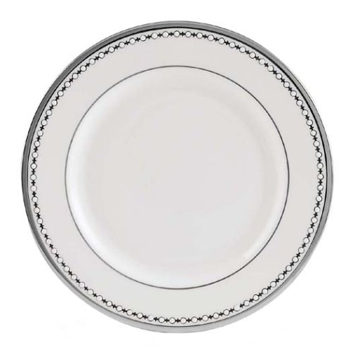 Lenox Pearl Platinum Bone China Butter Plate
