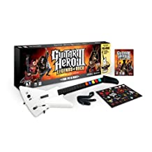 Guitar Hero III: Legends of Rock Bundle With Guitar - PC/Mac (Wired bundle) by Aspyr