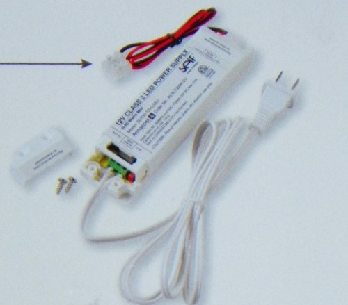 24' Surface Mount (Armacost Lighting 12V Low Voltage LED Lighting Power Supply (Output: 30 Watt Max, 12V DC Current))