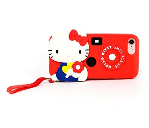 - Hello Kitty Die-Cut iPhone 7 Case: Retro