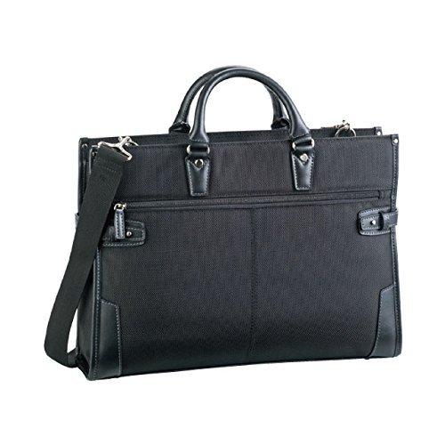 HAMILTON (ハミルトン) ビジネスバッグ 42cm 中国製 26578-01 黒 B01ALM42BO