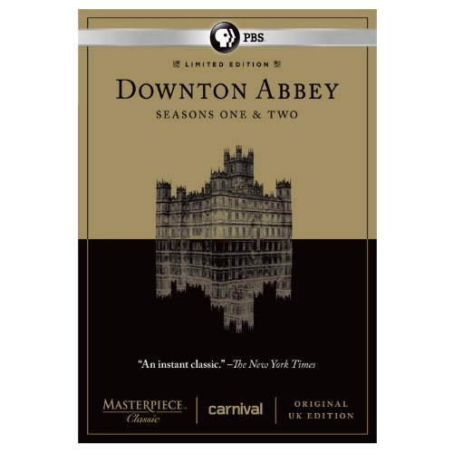 DOWNTON ABBEY SEASONS ONE & TWO LIMITED EDITION