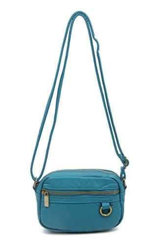 Small Crossbody Bag Wallet Purse Handbag Vegan Leather by Ampere Creations - Miu Miu Bag Vintage