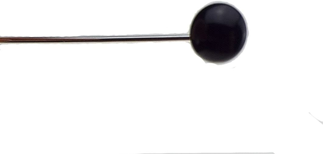 B Baosity Pince Cravate pour Homme Support /Épingles INOX Cravate Fausse Perle