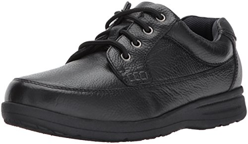 - Nunn Bush Men's Cam Oxford Casual Walking Shoe Lace Up, Black Tumbled, 9
