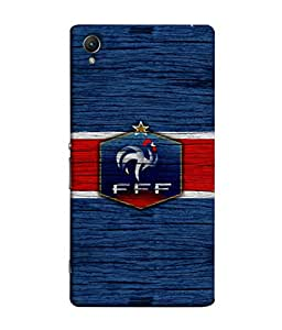 ColorKing Football France 16 Blue shell case cover for Sony Xperia Z5