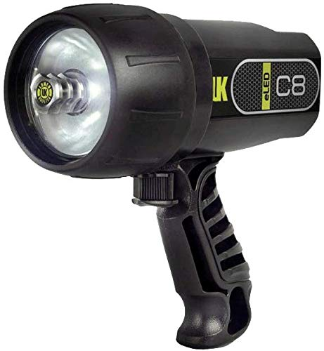 Underwater Kinetics C8 eLED Flashlight (Safety Yellow)