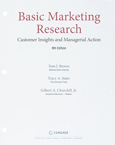 Bundle: Basic Marketing Research, Loose-leaf Version, 9th + Qualtrics, 1 term (6 months) Printed Access Card + LMS Integrated MindTap Marketing, 1 term (6 months) Printed Access Card (Bundle Churchill)