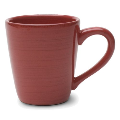 Tag Coffee Mug Red Sonoma 14 Oz Ironstone