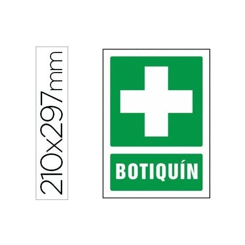56c6bff1049 low-cost PICTOGRAMA SYSSA SEÑAL DE BOTIQUIN EN PVC 210X297 MM ...