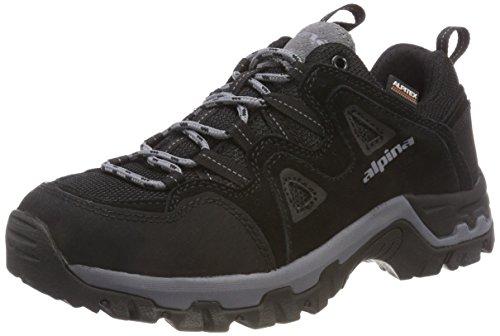 Unisex Schwarz Trekking alpina 680404 1 Erwachsene amp; Wanderhalbschuhe Schwarz dt66w0Fq