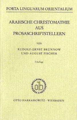 Arabische Chrestomathie aus Prosaschriftstellern