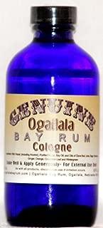 product image for 8 oz Genuine Ogallala Bay Rum Cologne, Regular Strength. Comes in a cobalt blue bottle.