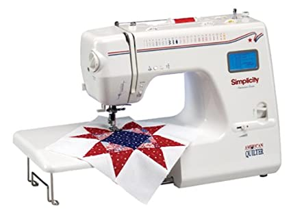 Amazon Simplicity SA40L American Quilter Sewing Machine Amazing Quilting On Regular Sewing Machine