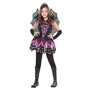 - 41MRJPgT DL - Amscan Spider Fairy Children Costume – Toddler (3-4)