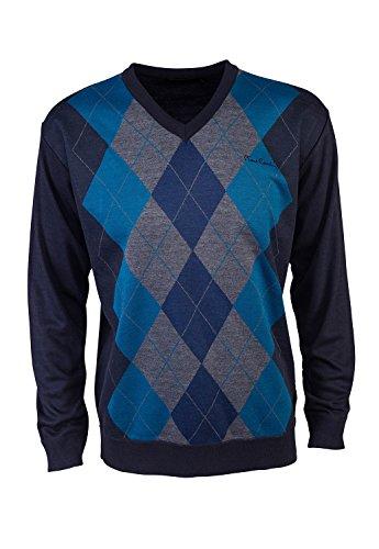 pierre-cardin-mens-new-season-v-neck-argyle-knitted-jumper-medium-navy-teal