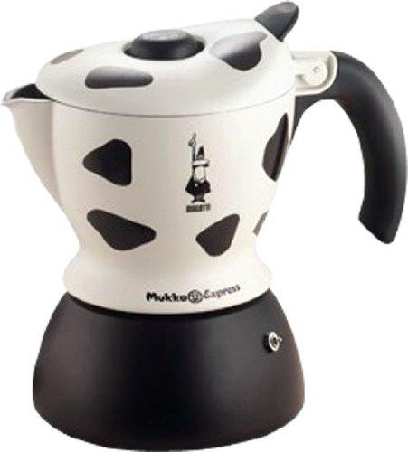 Bialetti Mukka Express 1-Cup Cow-Print Stovetop Cappuccino Maker by BIALETTI (Biaretti) (Bialetti Express Mukka)