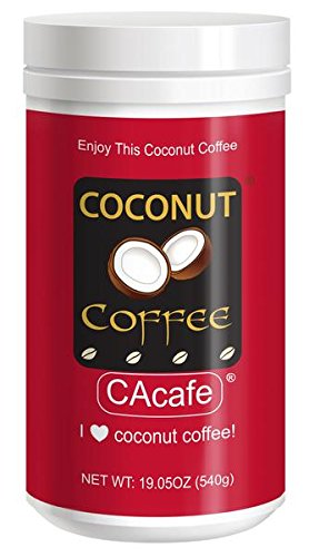Coconut Coffee is made with real Coconut (not artificial coconut flavor) and premium Colombian coffee. Full antioxidants!Some people drink it to help lose weight, nourish skin, hair and nails