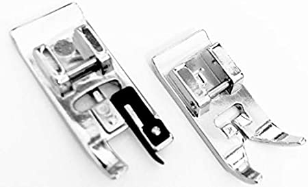 Overlock, de + Zig Zag prensatelas para Singer AEG Medion W6 Victoria uvm. Máquina de coser: Amazon.es: Hogar