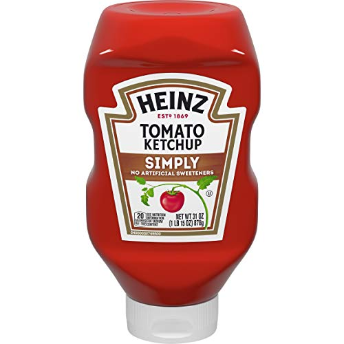 Heinz Simply Heinz Tomato Ketchup (31 oz Bottle)